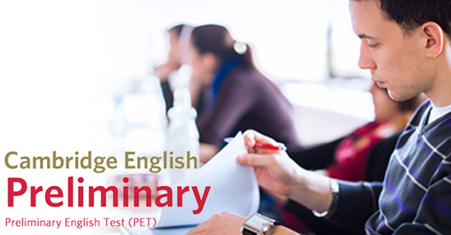 Cambridge English Preliminary (PET) – Niži srednji nivo