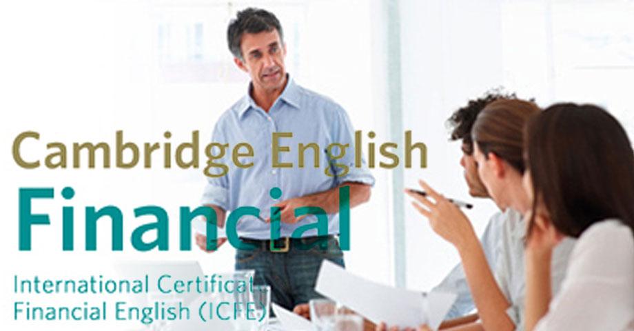 Cambridge ICFE – Međunarodni ispit engleskog jezika iz oblasti finansija